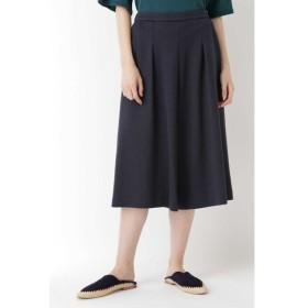 HUMAN WOMAN ヒューマンウーマン ジャパンクチュール タックキュロットスカート
