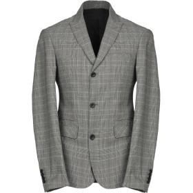 《期間限定セール中》LIU JO MAN メンズ テーラードジャケット スチールグレー 46 コットン 100%
