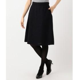 [マルイ]【セール】【セットアップ対応】ラメループモールツイード スカート/組曲 L(KUMIKYOKU L)