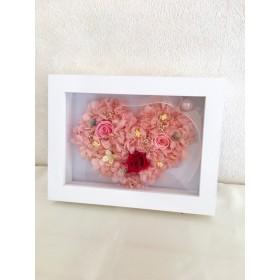 幸せ運ぶプリザーブドフラワー&紫陽花ピンク