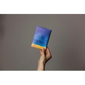 藍色の空で包む、ブックカバー|文庫カバー