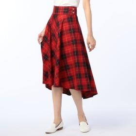[マルイ]【セール】カラーチェックサーキュラースカート/ノーリーズ レディース(NOLLEY'S)