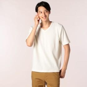 [マルイ]【セール】JQガーター風マイクロワッフルTシャツ/フレディ&グロスター メンズ(FREDY&GLOSTER)