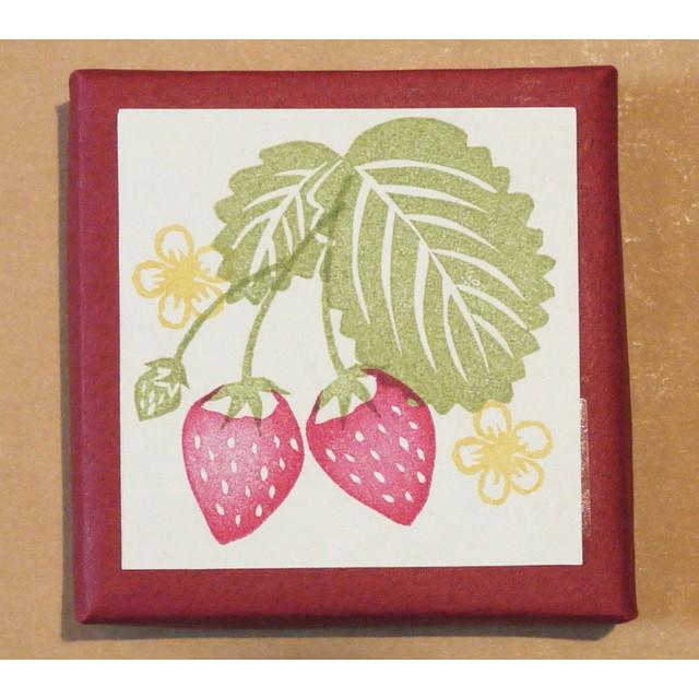 苺はんこセット