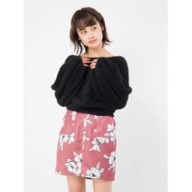 [マルイ]【セール】エッジング花柄台形スカート/セシルマクビー(CECIL McBEE)