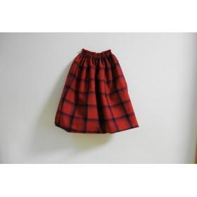 sold out size140 タータンチェックなバルーンスカート