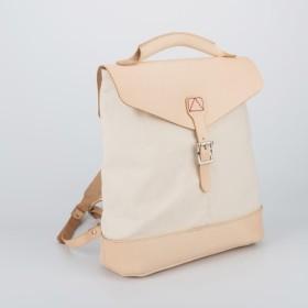 5809a7af1831 「帆布×革の組み合わせ」手作りのリュック レディース バッグ かわいい クラシックリュックサック
