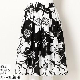 [マルイ]【セール】【大きいサイズ】【2L-3L】コットン花柄スカート/アミスインポータント(Amis Important)