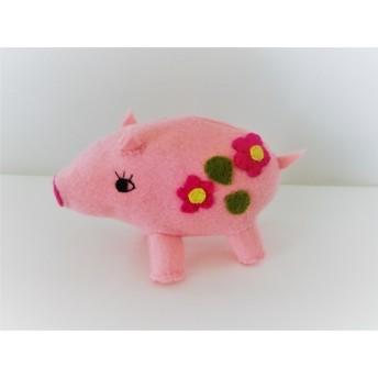 ピンクのピッグちゃん