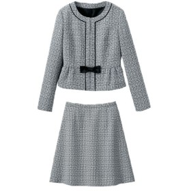 [マルイ] 2ジャケット(ノーカラー・テーラード)4点スーツ(ワンピース・スカート)/ハッピーマリリン(AHAPPYMARILYN)