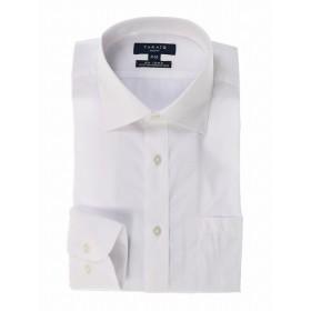 [マルイ]【セール】形態安定スリムフィットワイドカラー長袖ビジネスドレスシャツ/タカキュー(TAKA-Q)