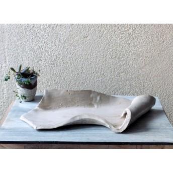 白い平皿-A