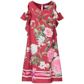 《セール開催中》BLUGIRL BLUMARINE レディース ミニワンピース&ドレス レッド 38 ポリエステル 100%