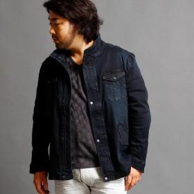 [マルイ]【セール】M65デニムジャケット/ハイダウェイ(大きいサイズ)(HIDEAWAYS)