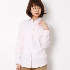 [マルイ]【セール】ふんわり柔らか素材♪ イージーケア 長袖 丸衿/ハートメイドシャツ(Heart Made Shirts)