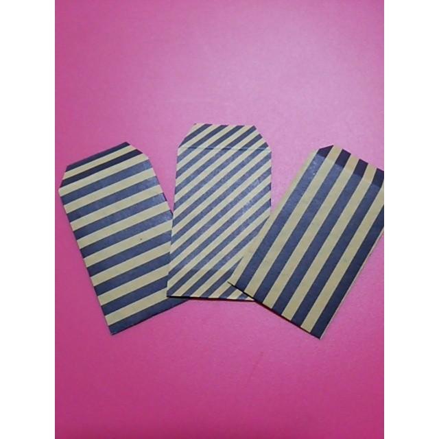 4色のminiぽち袋【ストライプ】