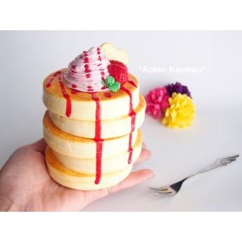 春限定!苺ホイップのパンケーキ♪