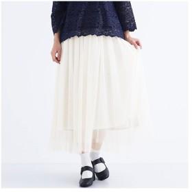 [マルイ] 【plus】エアリーチュールスカート/メルロープラス(merlotPLUS)