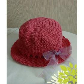 夏用ベビーニット帽