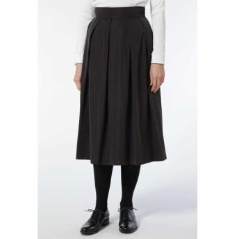 HUMAN WOMAN ヒューマンウーマン / [店舗限定販売]《arrive paris》タックフレアスカート