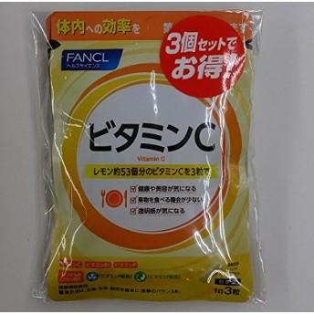 ファンケルFANCL ビタミンC(旧:ビタミンC&ビタミンP) 約90日分(徳用3袋セット)