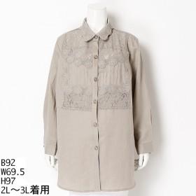 [マルイ]【セール】【大きいサイズ】【2L-3L】レースロングジャケット/アミスインポータント(Amis Important)