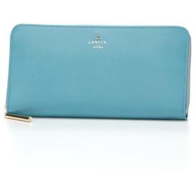 [マルイ] リュクサンブールカラー ラウンド長財布(カード入れ22カ所の大容量)/ランバンオンブルー(LANVIN en Bleu)