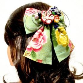 和装☆成人式☆卒業式 つまみ細工の髪飾り 43