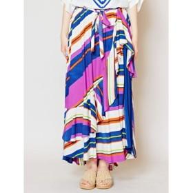 [マルイ]【セール】【チャイハネ】カリビアンストライプロングスカート/チャイハネ(CAYHANE)