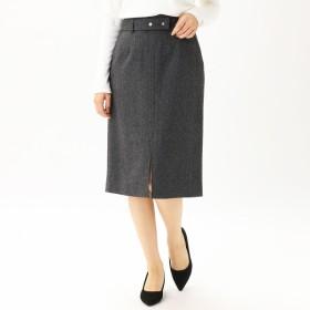 [マルイ]【セール】ヘリンボーンツイード ベルト付きタイトスカート/コムサモデルズ(comme ca models)