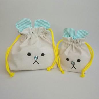 クマのお弁当袋コップ袋セット