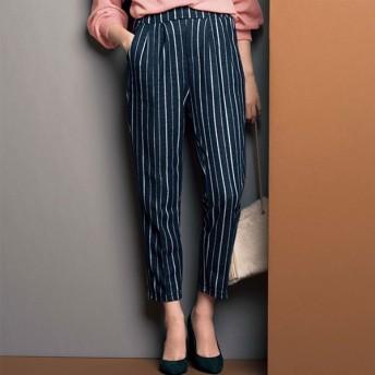 [マルイ] センタープレス風ストレッチテーパードパンツ/ジーラ バイ リュリュ(ファッション)(GeeRA by RyuRyu)