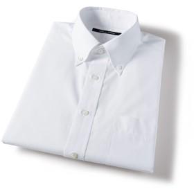 【メンズ】 形態安定衿型バリエーションYシャツ(半袖) ■カラー:ホワイトB(ボタンダウン衿) ■サイズ:LL,5L