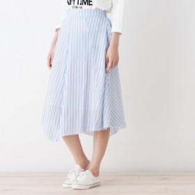 [マルイ]【セール】マルチストライプ イレヘムスカート/キューティーブロンド(Cutie Blonde)