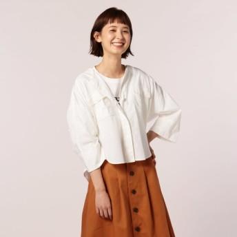 [マルイ]【セール】ブロード胸ポケットシャツブルゾン/フレディ&グロスター レディース(FREDY&GLOSTER)