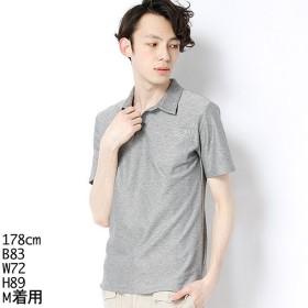 [マルイ] ポロシャツ(トリコロールアクセントポロ)/モルガンオム(MORGAN HOMME)