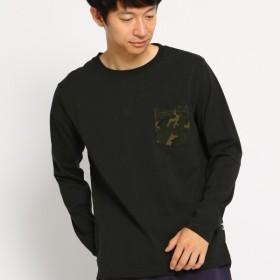 [マルイ]【セール】MTシャツ(長袖 Tシャツ ポケット切り替え WEB限定)/ベース ステーション(メンズ)(BASE STATION Mens)