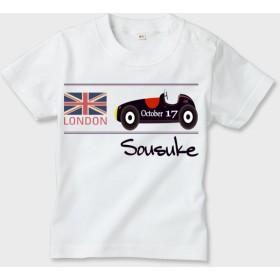 名前入れ Tシャツ 英国車ver.
