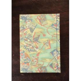 和綴じ 和綴じ本の柄 縦罫ノート