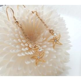 Starfish 海の星のピアス(イヤリング)