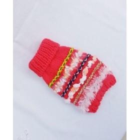 再販 小さい子用 ペットニット服・送料込み・暖か手編み
