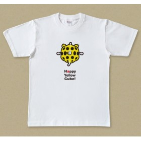 お魚Tシャツ 幸せのきいろい四角 / ミナミハコフグの幼魚