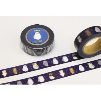 フクロウ オリジナルマスキングテープ
