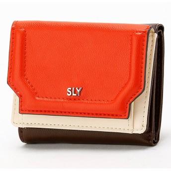 [マルイ] 3つ折り財布/スライ(バッグ&ウォレット)(SLY)