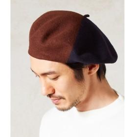 [マルイ]【セール】LA BERET FRANCAIS デザインベレー帽/モルガンオム(MORGAN HOMME)