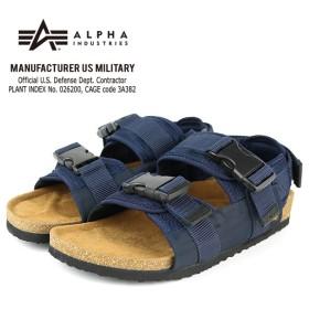 [マルイ]【セール】ALPHA MILITARY STRAP SANDAL AF-301SD (UNISEX)/ALPHA INDUSTRIES (アルファ インダストリーズ)