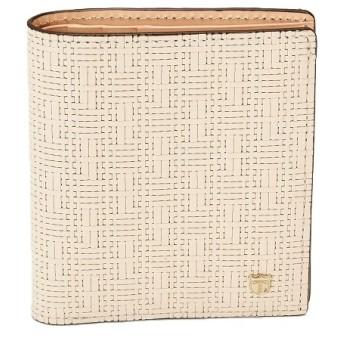 [マルイ]【セール】Ritmo[リトモ]メッシュ柄型押し・二つ折りミニ財布/トプカピ(TOPKAPI)