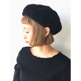 [マルイ]【セール】ボアベレー帽/イーハイフンワールドギャラリー(E hyphen world gallery)