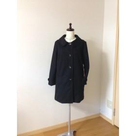 再販黒ウールコート