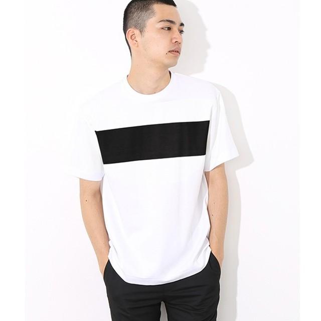 [マルイ] ポンチラインプリントTシャツ/アダム エ ロペ(メンズ)(ADAM ET ROPE')